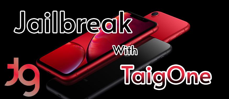 Jailbreak 13 - iOS 13.6  TaigOne