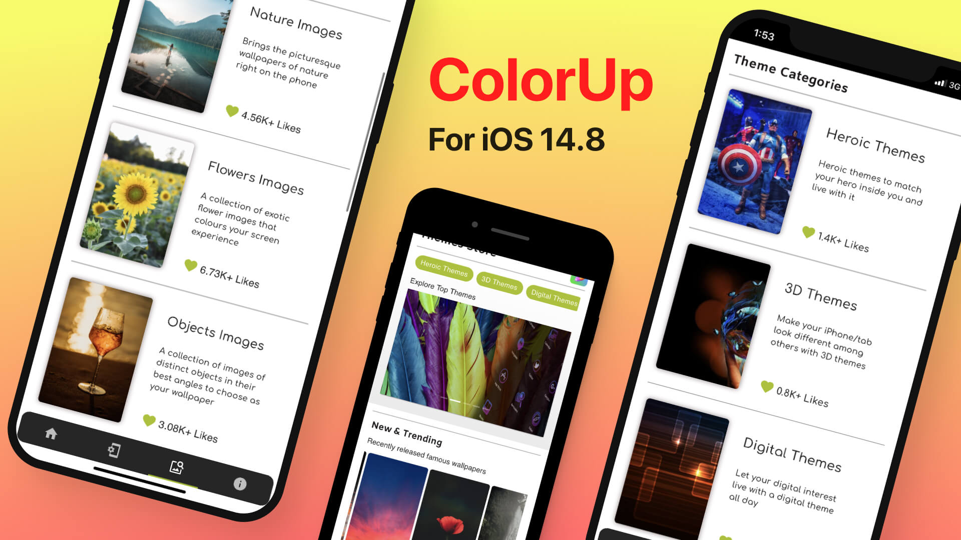 Colorup - iOS 14.8 Jailbreak Themes
