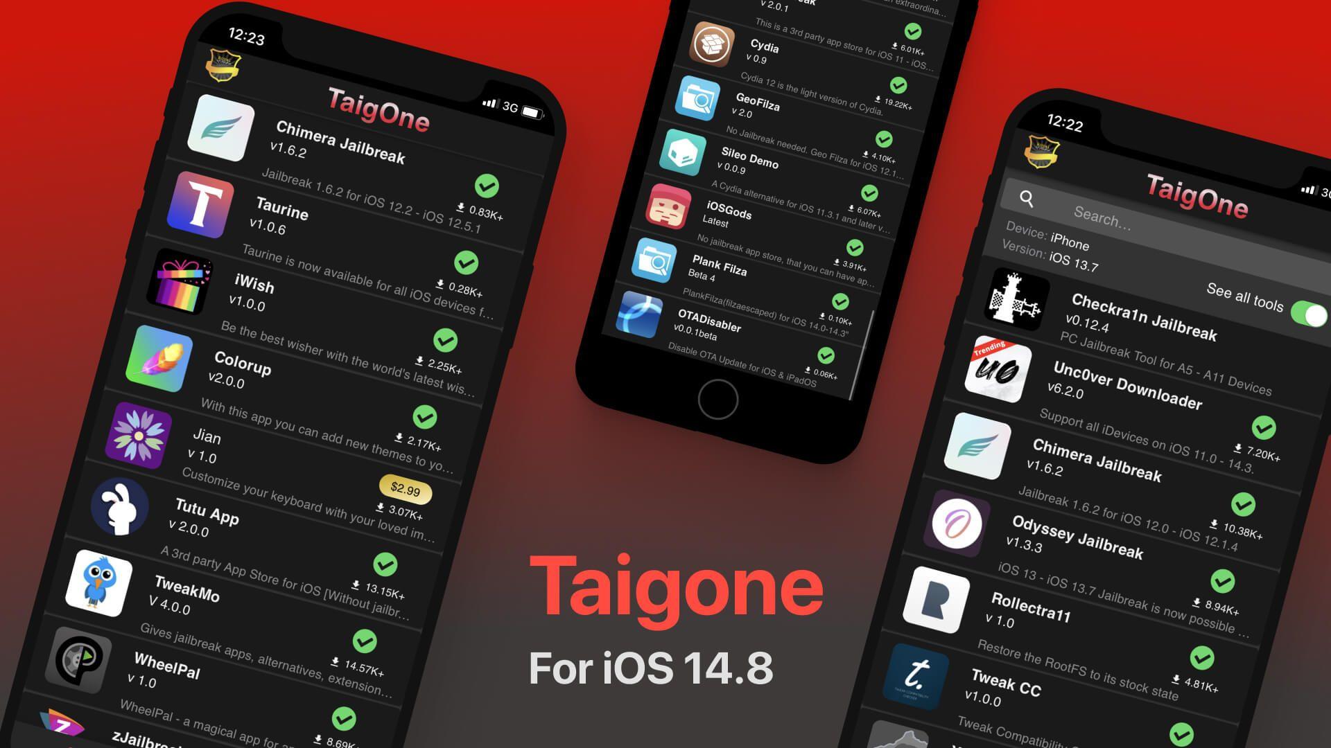 Taigone for iOS 14.8