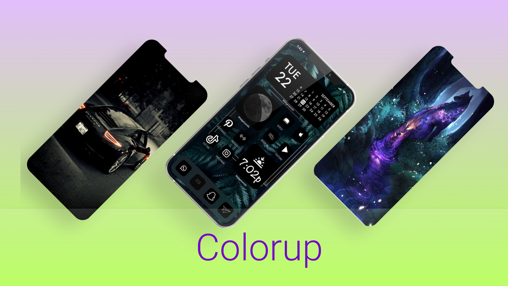 Colorup -iOS themes and wallpaper downloader without jailbreak