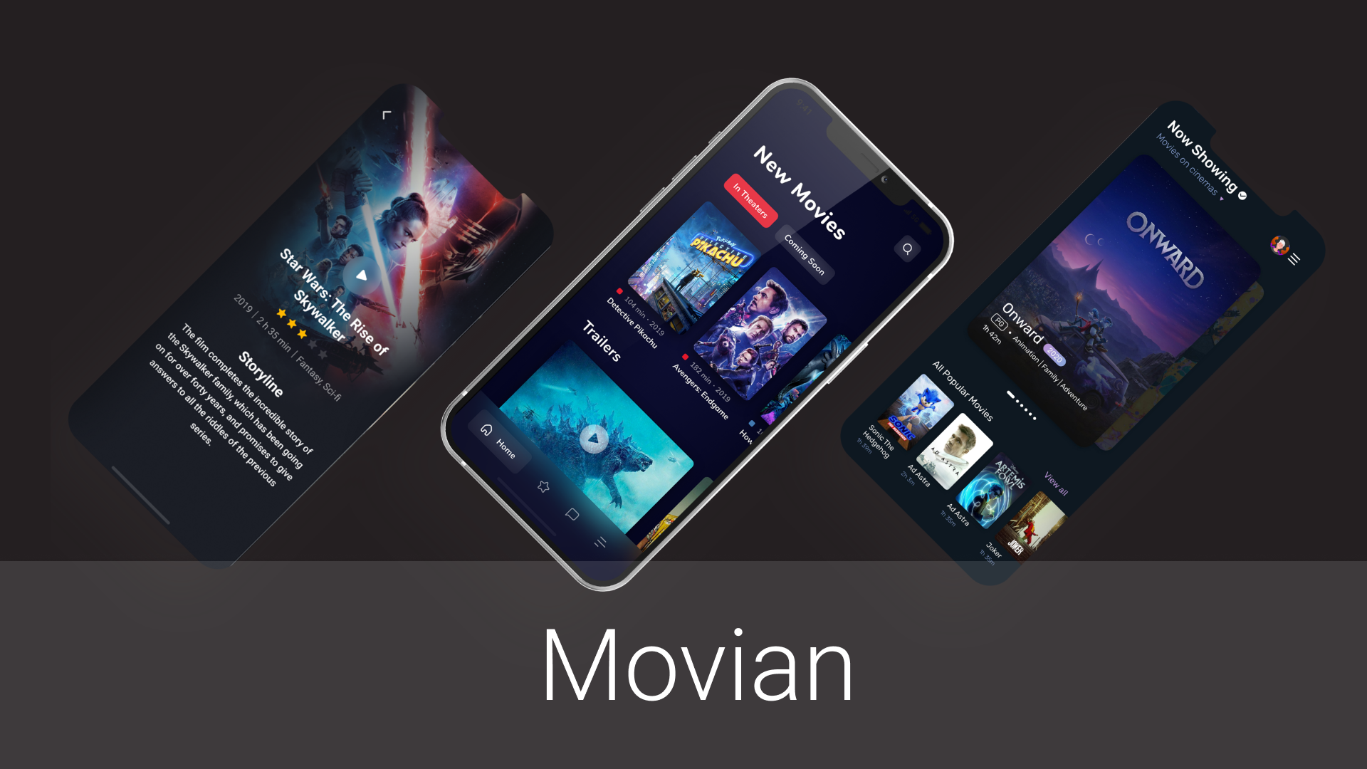 Movian -movie streaming app collection for iOS