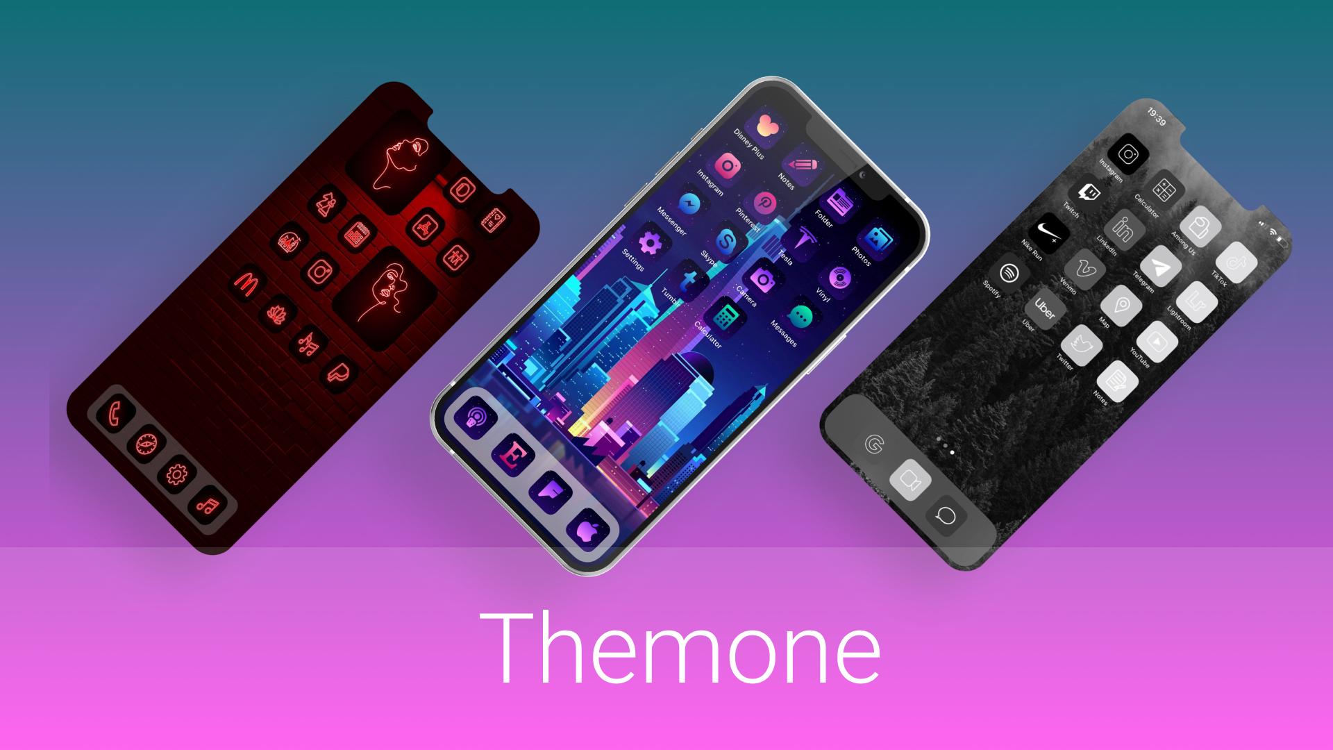 Themone - iOS customization app without jailbreak