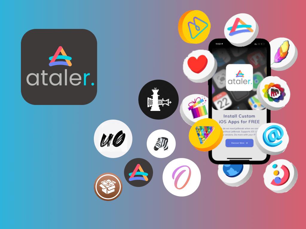 Ataler, No Jailbreak Apps and Tweaks for iOS 15